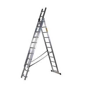 Трехсекционная лестница 300/640 см